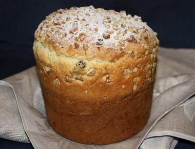 Подробный рецепт приготовления Пасхального кулича с орехами