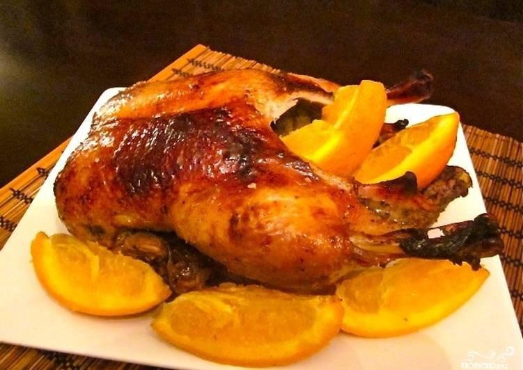 Запеченная утка с апельсиновой глазурью (Готовим с Алексеем Зиминым)