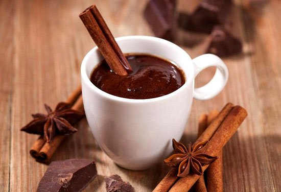 Быстрый рецепт приготовления  горячего шоколада