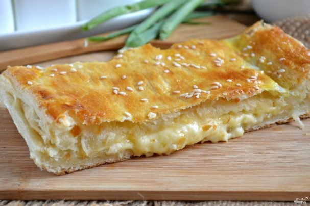 Народный рецепт приготовления пирога с сыром