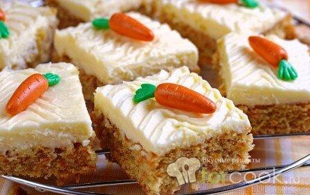 Морковные кексы с апельсином и грецкими орехами
