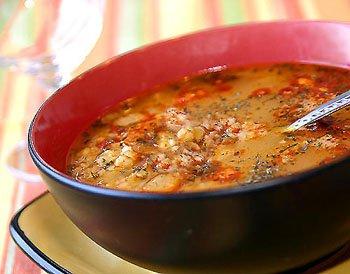 Постный суп с чечевицей (Контрольная закупка)