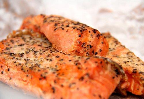 Копченый лосось (Спросите повара)