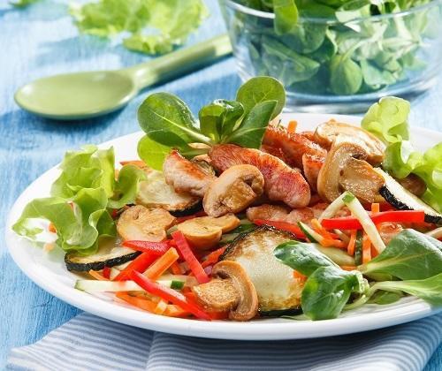 Теплый салат с индейкой (Контрольная закупка)