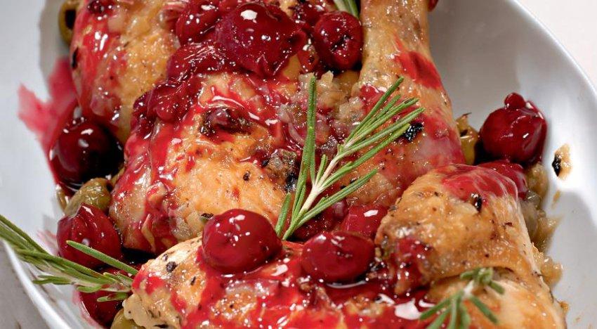 Цыпленок под вишневым соусом (Контрольная закупка)