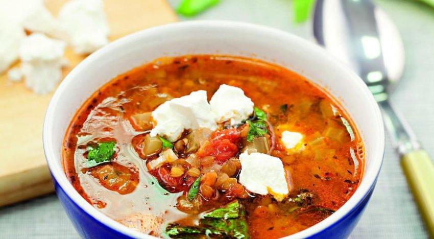 Суп из чечевицы (Время обедать)