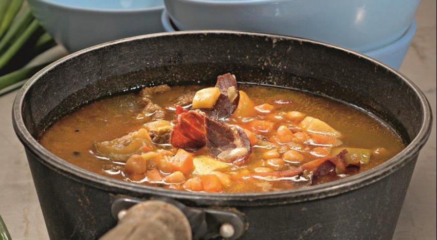 Еврейский суп хамин (Барышня и кулинар)