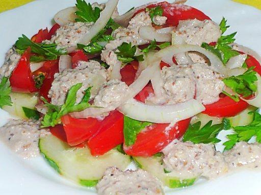 Грузинский салат (Кулинарный поединок)