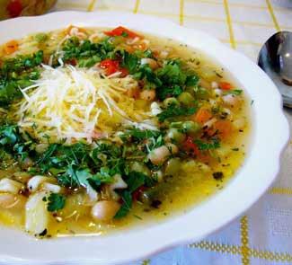 Суп Минестроне, классический рецепт