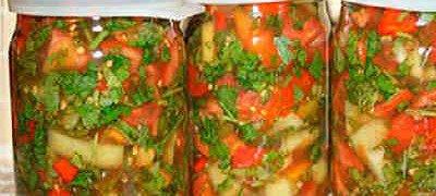 Приправа на зиму из овощей для супа
