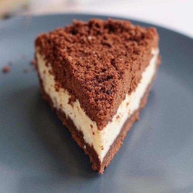 Творожный торфяной пирог