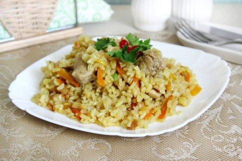 Как вкусно приготовить рис со свининой