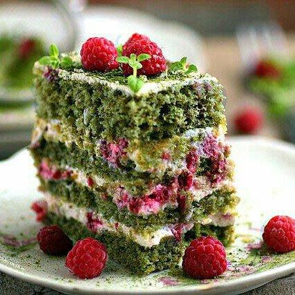 Торт Шпинатный Изумрудный