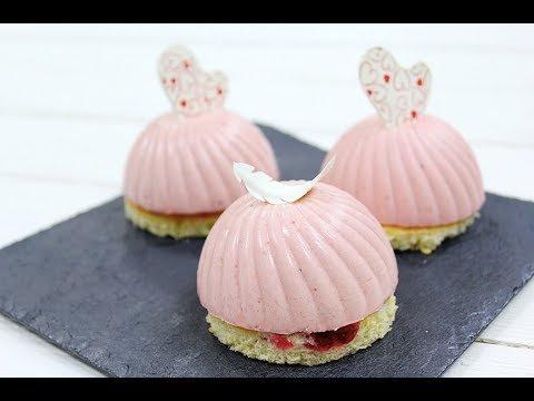 Муссовое клубничное печенье, рецепт+фото