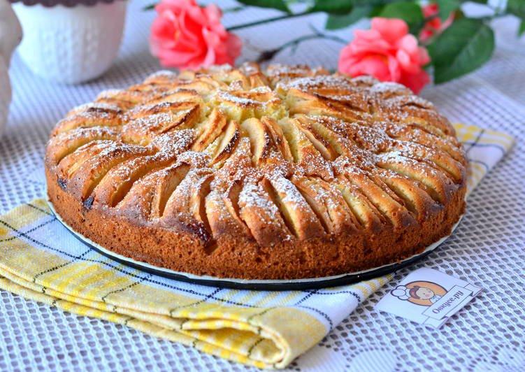 Корнуэльский яблочный пирог, подробный рецепт