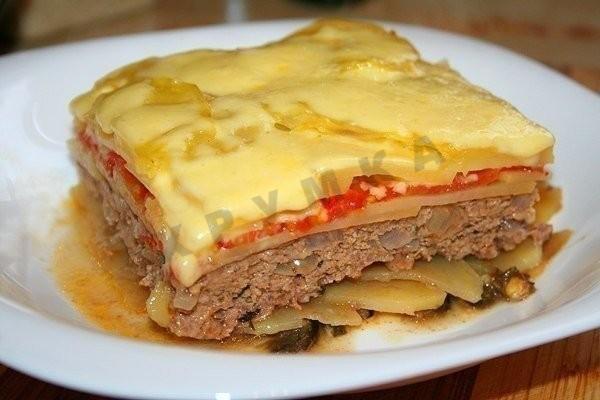 Запеканка из картофеля и фарша - беспроигрышный вариант ужина