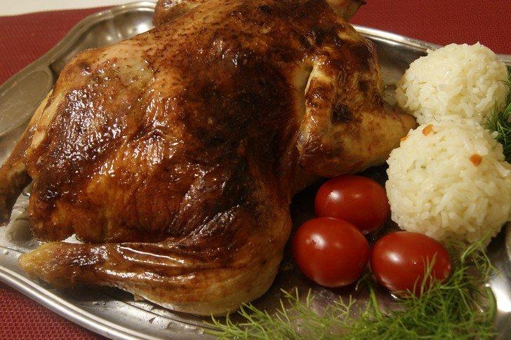 Мясное блюдо: «утомлённая» курица.