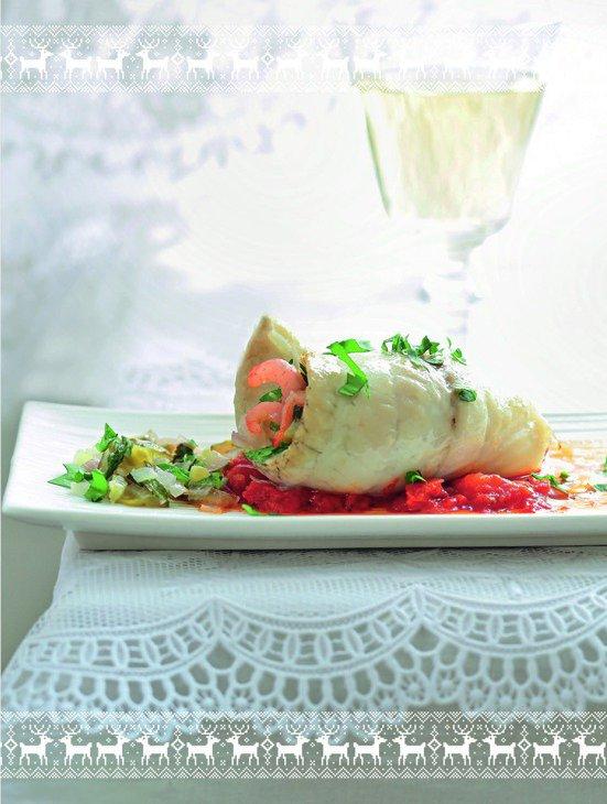 Рыбные рулеты с креветками - закуска к Новому Году